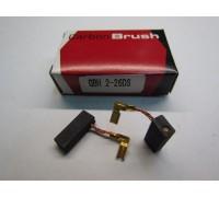 Щетки GBH 2-26 электроугольные (графитовые) 5x8x19 для BOSCH с авто отключением