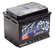 Аккумулятор СтартБат 6СТ-45e (45 Ah), 390a, 207х175х190 мм.
