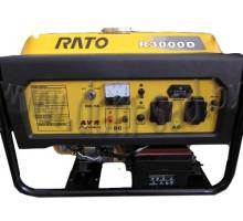 Генератор бензиновый RATO R3000 D (+электростартер)