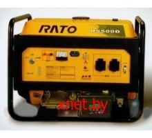 Генератор бензиновый RATO R5500D (Электростартер)