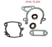 Комплект прокладок с сальниками для STIHL TS 420