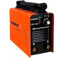Сварочный аппарат LIDER IGBT -200 MMA