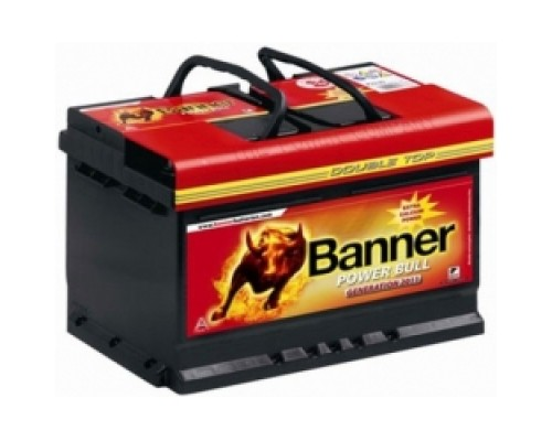 Аккумулятор  Banner Power Bull  P7540 (75Ah)